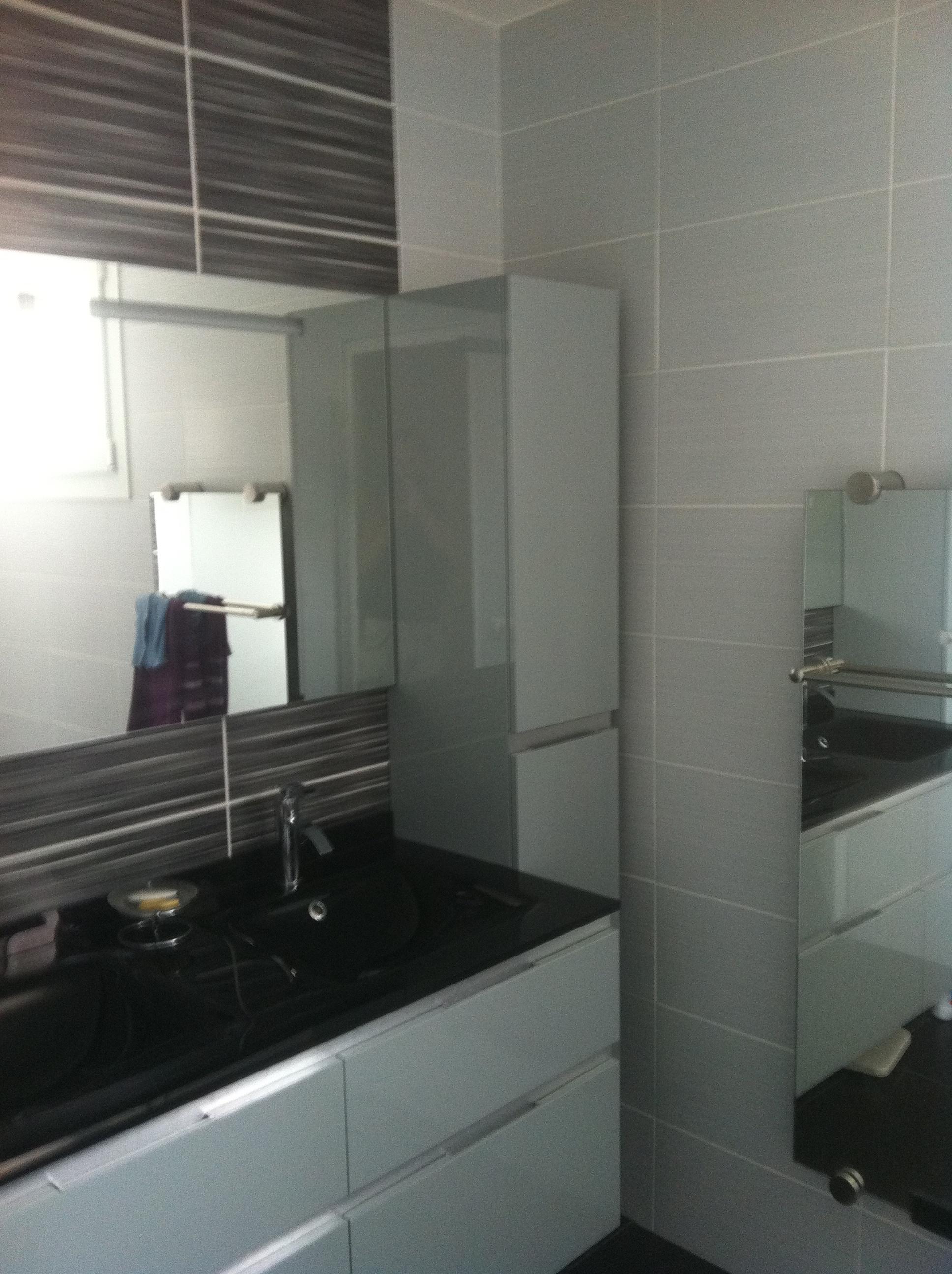 2012/06 Salle de bain sur Marseille Salle de bains avec miroir ...