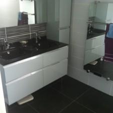 2012/06 salle de bain sur marseille | blb-carrelage - Carrelage Gris Anthracite Salle De Bain