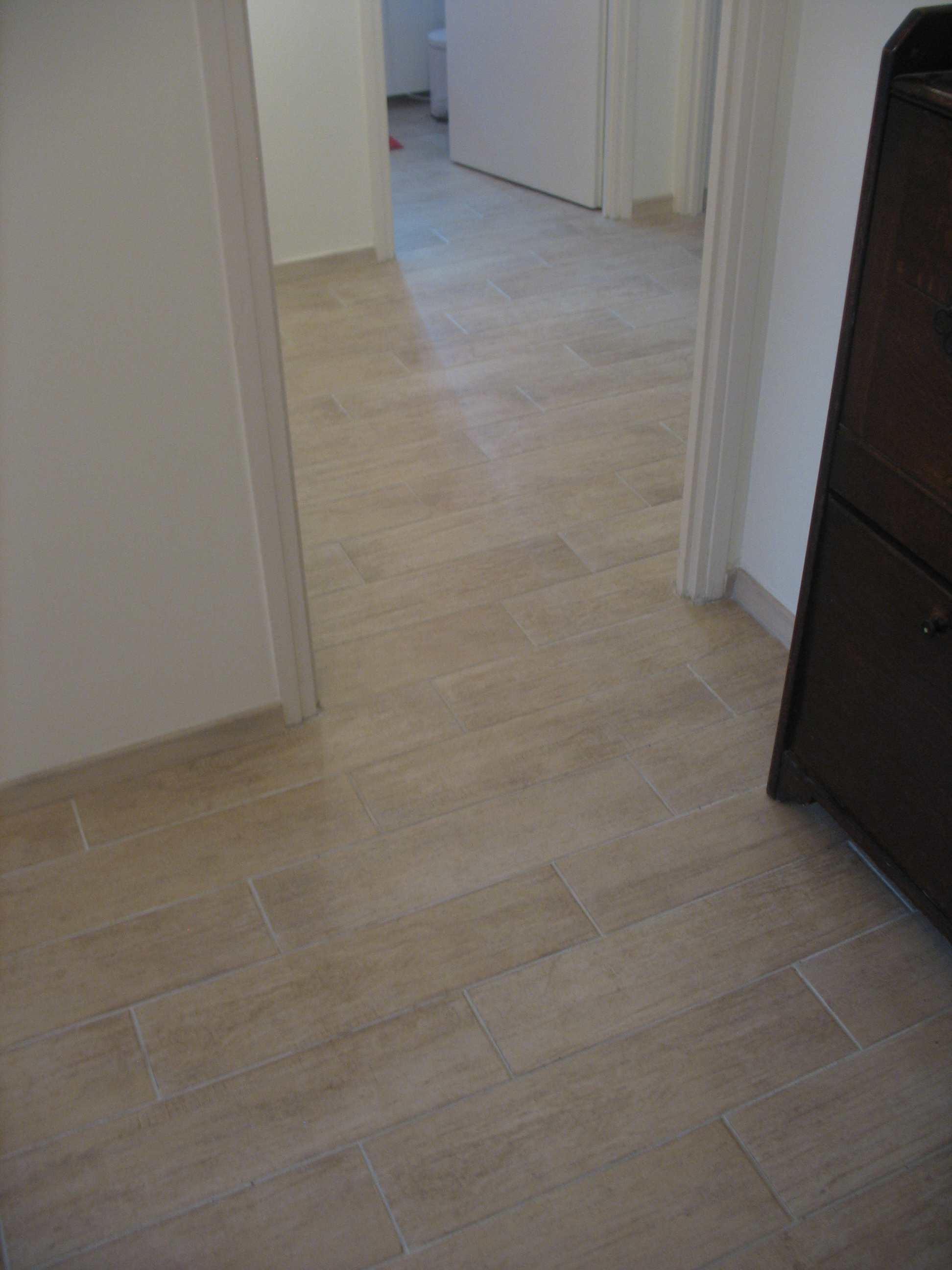 Salle De Bain Carrelage Parquet Of R Novation Sol D Un Appartement En Carrelage Imitation
